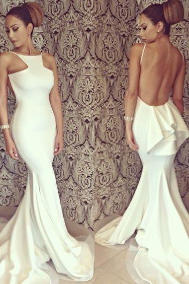 Prom Dress, Hot Sale Sexy Mermaid Lycra Prom Dresses Sleeveless Formal Evening Party Gowns Vestidos,Graduation Dresses,Wedding Guest Prom Gowns, Formal Occasion Dresses,Formal Dress