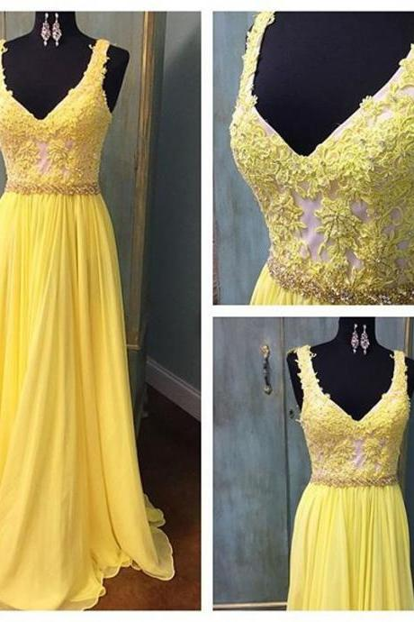 Prom Dress,Sexy Elegant Prom Dresses, Sexy Prom Dresses,Sleeveless Prom Dress,V Neck Homecoming Dress,Elegant Formal Dress