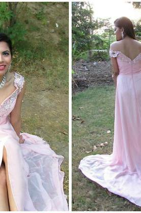 Prom Dress, Charming Prom Dress,Long Evening Dress,Off Shoulder Split Side Evening Dresses,Sexy Prom Dress,High Quality Graduation Dresses,Wedding Guest Prom Gowns, Formal Occasion Dresses,Formal Dress