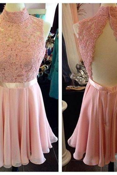 Graduation Dress, short prom dress , mini prom dress , homecoming dress , lace prom dress , homecoming dress , short wedding and party dress , girls dress , formal short prom dress,High Quality Graduation Dresses,Wedding Guest Prom Gowns, Formal Occasion Dresses,Formal Dress