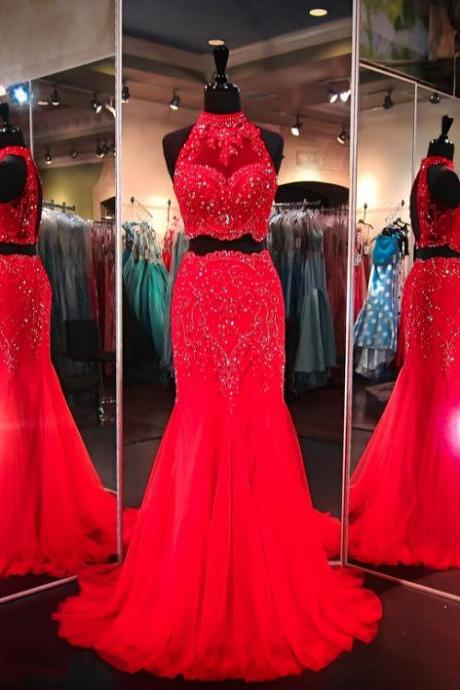 Long prom dresses,red evening gowns, red prom gowns, prom gowns,new style fashion prom gowns