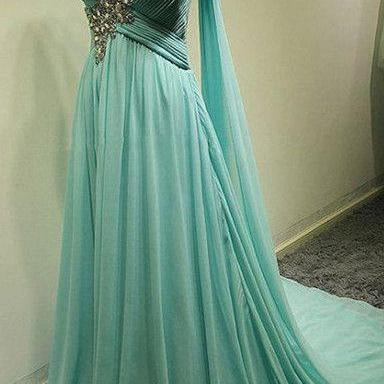 Charming Prom Dress,One-Shoulder Bridesmaid Dress,Chiffon Prom Dress,A-Line Prom Dresses,Sweetheart Prom Dresses,Long Evneing Dress,Charming Evening Gowns,,cheap Sexy Backless Prom Dresses,Beading Evening Dress, Prom Dress, formal dresses,Wedding guests dresses