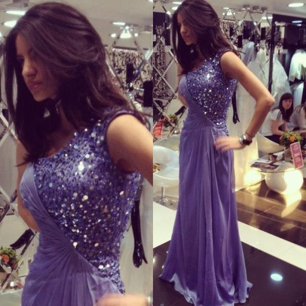 Prom Dress, Purple Bead One Shoulder Charming A Line Long Prom Dresses,Formal Evening Gown,best sale Prom Gown,Formal Dress
