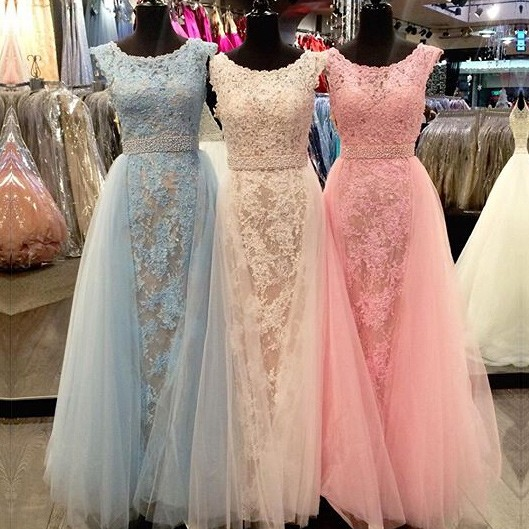 Prom Dress, Sexy Honorable Long Prom/Evening Dress - Lace A-Line Scoop Gown for Women , Formal Party Gowns Pageant Dress ,Elegant Evening Dress,Party Dress,Wedding Guest Prom Gowns, Formal Occasion Dresses,Formal Dress