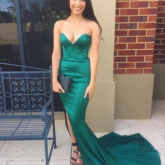 Prom Dress,Sexy Evening Dress,Backless Mermaid Evening Gowns,Long Prom Dresses,Formal Gown, Long Dress for Prom,Floor-length Prom Dresses,Wedding Guest Prom Gowns, Formal Occasion Dresses,Formal Dress