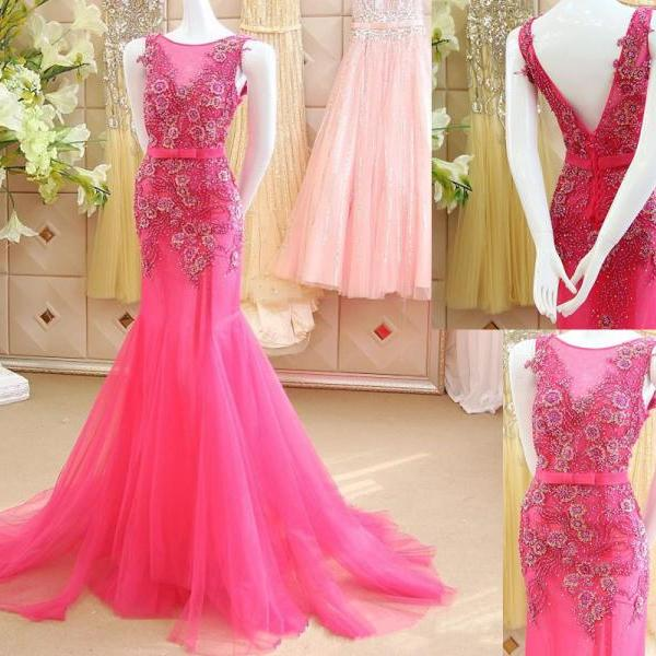 Prom Dress,Sexy Elegant Appliques Prom Dress,Mermaid Prom Dress,Luxury Prom Dresses,Flowers Prom Dress,Shiny Prom Dress,New Arrival Prom Dress,Beaded Prom Dress,V Back Prom Dress Custom Made Prom Gown,High Quality Graduation Dresses,Wedding Guest Prom Gowns, Formal Occasion Dresses,Formal Dress
