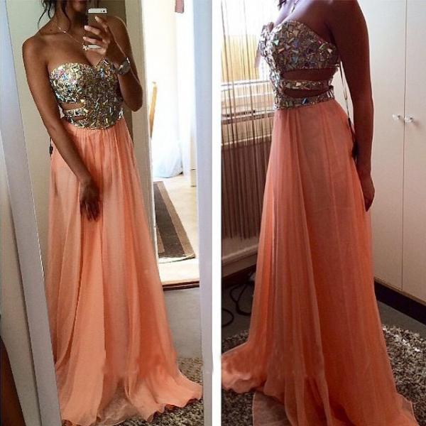 Charming Prom Dress,Sleeveless Chiffon Evening Dress,Sexy Prom Dresses,Long Party Dress ,High Quality Graduation Dresses,Wedding Guest Prom Gowns, Formal Occasion Dresses,Formal Dress